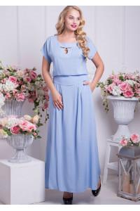 Сукня «Версаль» блакитного кольору