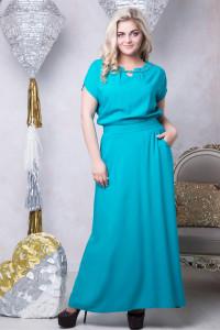 Сукня «Маркіза» бірюзового кольору