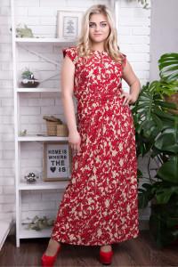 Сукня «Гербера» червоного кольору