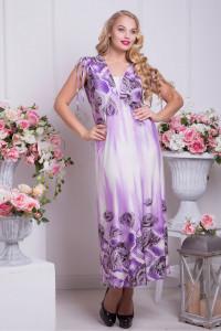 Сукня «Бриз» фіолетова