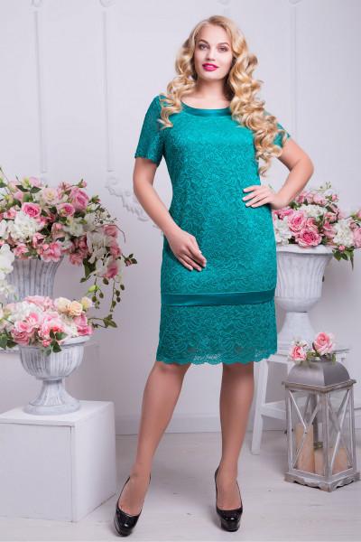 Сукня «Дженіфер» бірюзового кольору