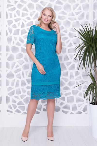 Сукня «Дженіфер» кольору лазурі