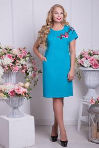 Сукня «Шеллі» блакитного кольору