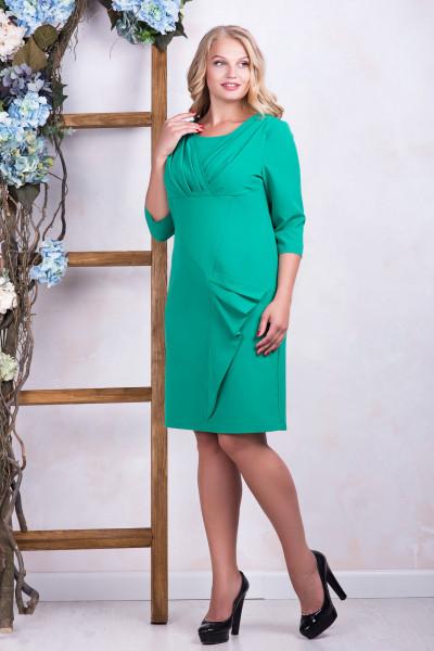 Сукня «Еврика» смарагдового кольору