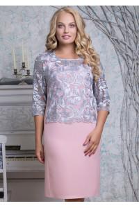 Сукня «Сальма» кольору пудри
