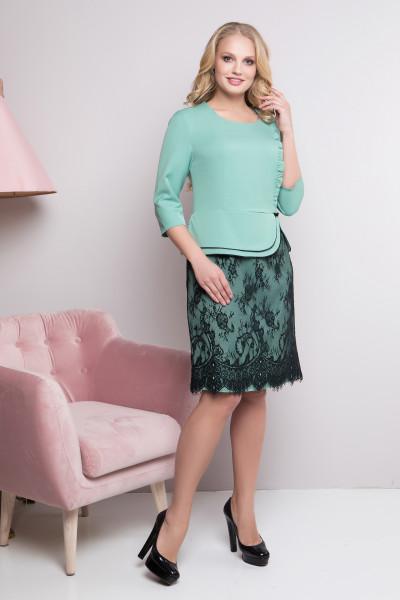 Сукня «Роксолана» м'ятного кольору
