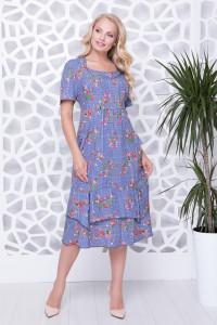 Сукня «Абелія» блакитного кольору