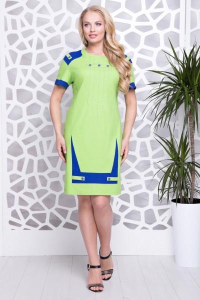 Сукня «Фаворит» кольору лайм