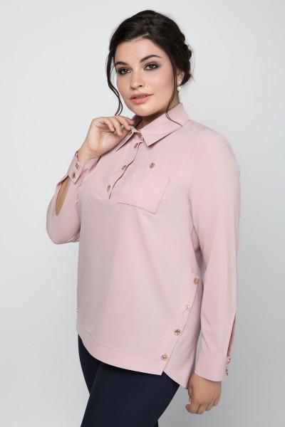 Блуза «Ядвіга» рожевого кольору