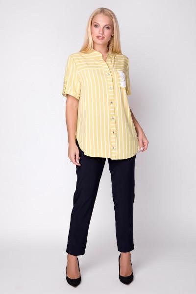 Сорочка «Майя» жовтого кольору