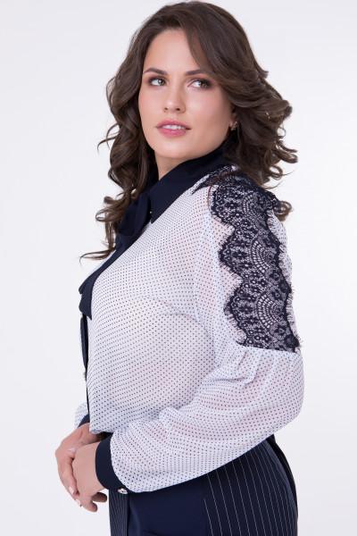 Сорочка «Пелагея» білого кольору