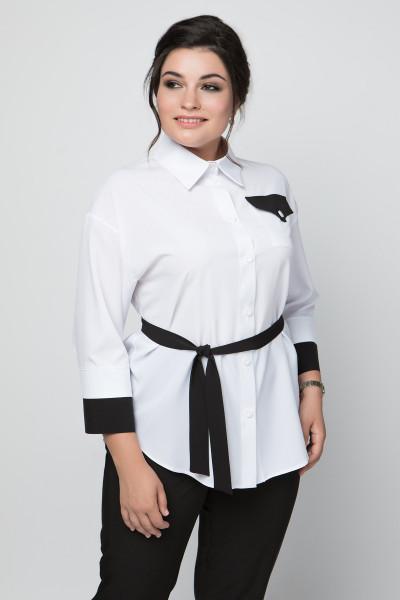 Блуза «Софія» з чорним декором