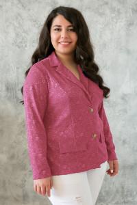 Жакет «Дженні» рожевого кольору