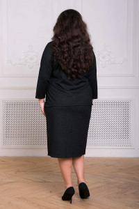 Костюм «Кейси» черного цвета