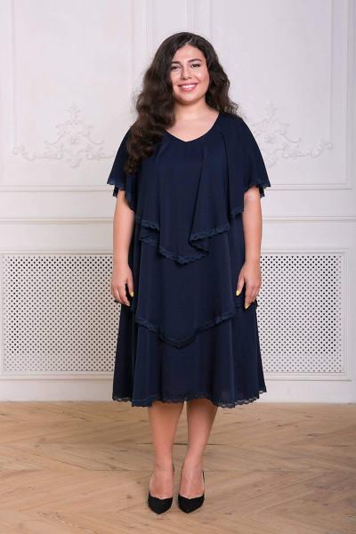 Сукня «Девіс» темно-синього кольору