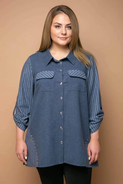 Сорочка «Твікс» синього кольору