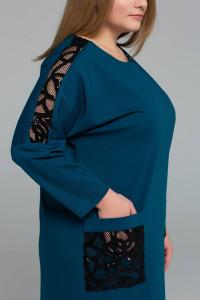 Сукня «Лем» кольору морської хвилі