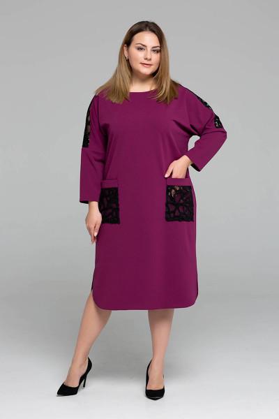 Сукня «Лем» малинового кольору