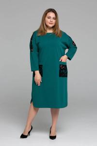 Сукня «Лем» бірюзового кольору