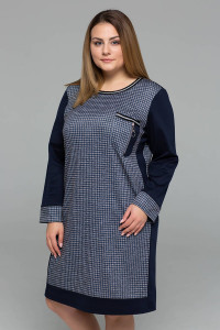Сукня «Сірі» темно-синього кольору