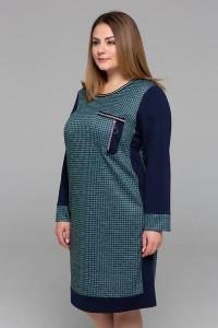 Сукня «Сірі» бірюзового кольору