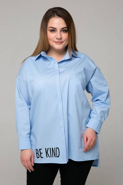 Сорочка «Зара» блакитного кольору