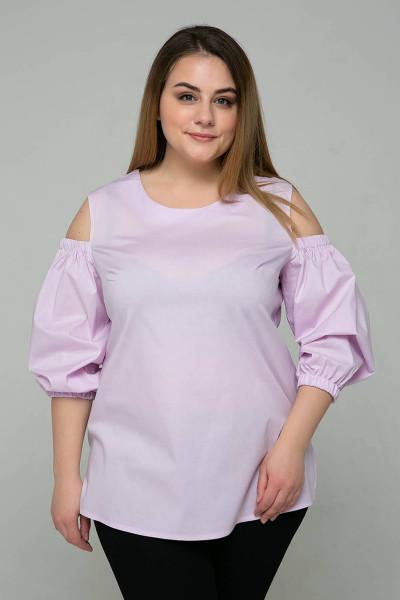 Блуза «Леся» бузкового кольору