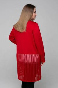Кардиган «Беверлі» червоного кольору