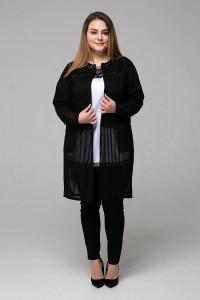 Кардиган «Беверлі» чорного кольору
