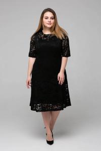 Сукня «Івона» чорного кольору