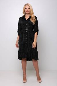 Платье «Перис» черного цвета