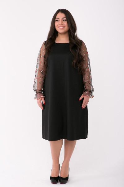 Сукня «Джоан» чорного кольору