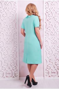 Платье «Верди» бирюзового цвета