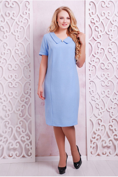 Сукня «Верді» блакитного кольору