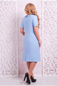 Платье «Верди» голубого цвета