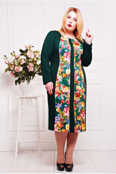 Сукня «Нана» зеленого кольору