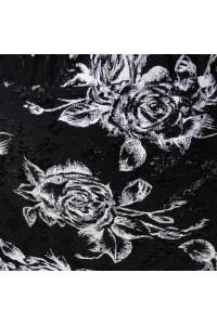 Спідниця «Тереза» чорного кольору з білим
