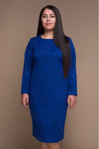 Сукня «Ірма» кольору електрик