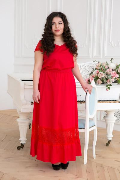Сукня «Річ» червоного кольору