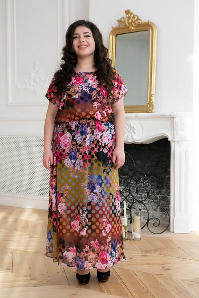 Сукня «Фанні» коричневого кольору
