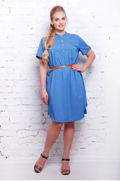 Сукня «Джина» блакитного кольору