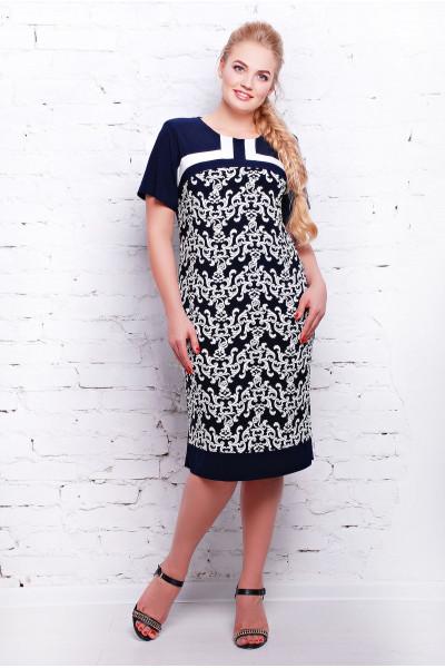Сукня «Венеція» темно-синього кольору