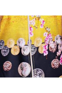 Туника «Валери» желтого цвета