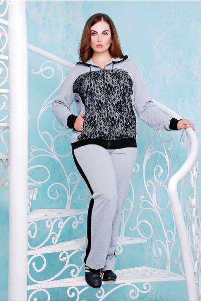 Спортивний костюм «Наомі» сірого кольору