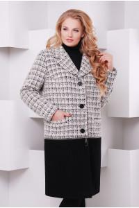 Пальто-трансформер «Берн» сірого кольору