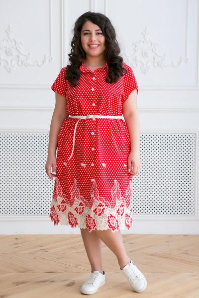 Сукня «Дерсі» червоного кольору