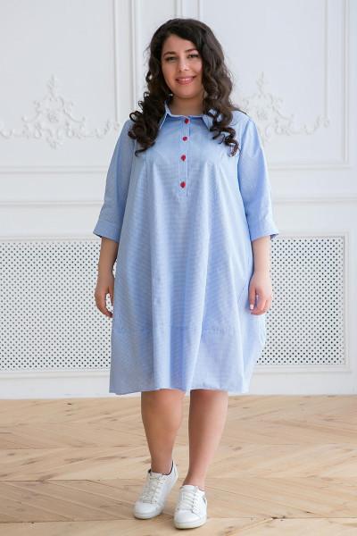 Сукня «Селена» блакитного кольору