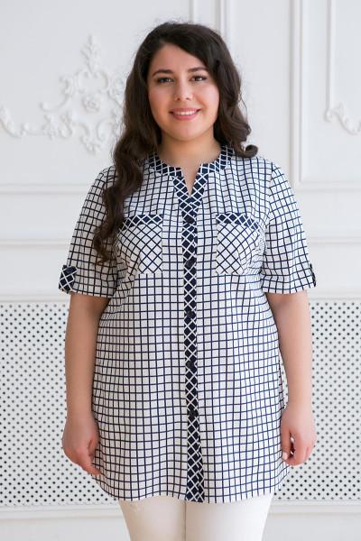 Сорочка «Арміна» білого кольору