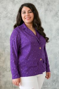 Жакет «Дженні» фіолетового кольору