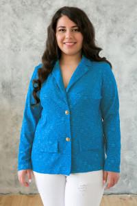 Жакет «Дженні» блакитного кольору